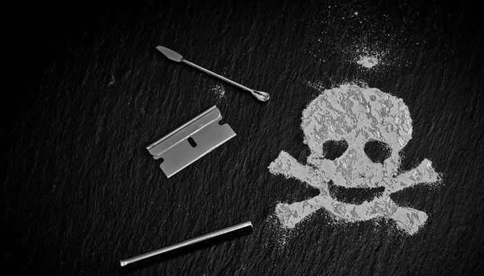 cocaína y nicotina