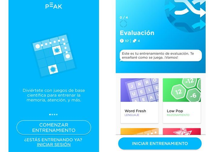 brain training aplicaciones