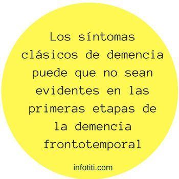 Demencia frontotemporal tipos